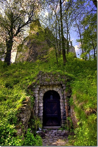 Славнозвісний румунський замок Бран. Замок Графа Дракули. (4)