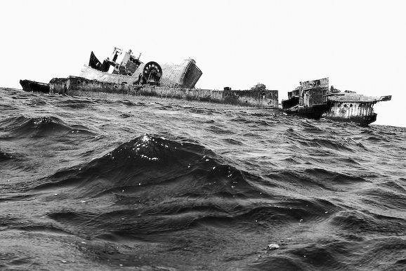 Куди йдуть судна в останню путь. Найбільше в світі кладовище кораблів (7)