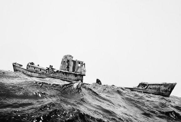 Куди йдуть судна в останню путь. Найбільше в світі кладовище кораблів (6)
