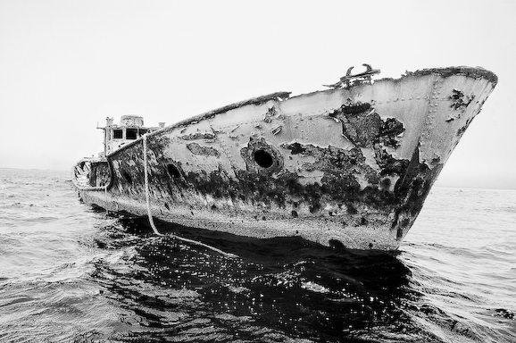 Куди йдуть судна в останню путь. Найбільше в світі кладовище кораблів (4)