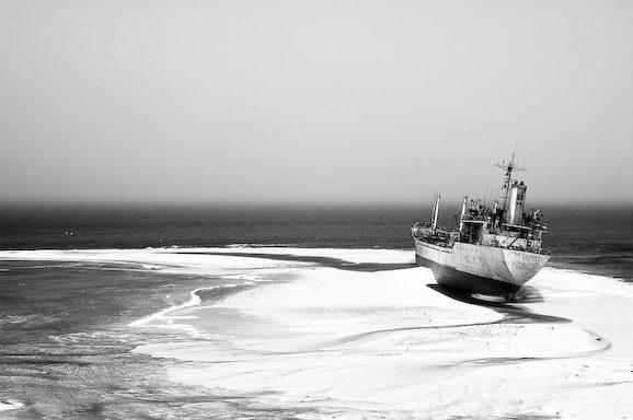 Куди йдуть судна в останню путь. Найбільше в світі кладовище кораблів (3)