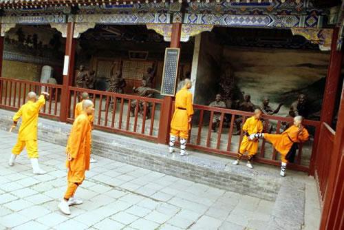 Шаолінь. Буддистський монастир в Китаї (3)