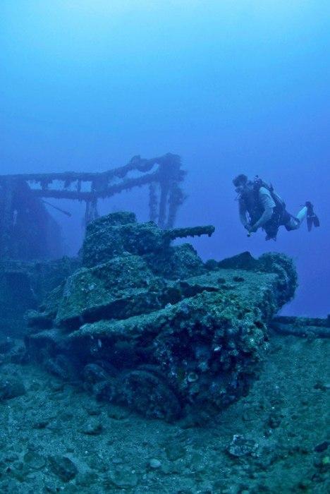 Острови Чуук (Трук) — Лагуна загиблих кораблів (32)