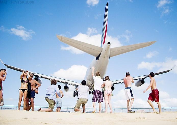 Унікальний аеропорт Принцеси Джуліани і пляж Махо Біч (3)