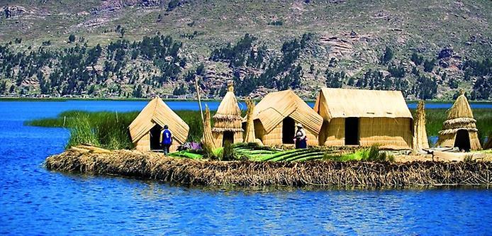Плаваючі острови озера Тітікака (15)