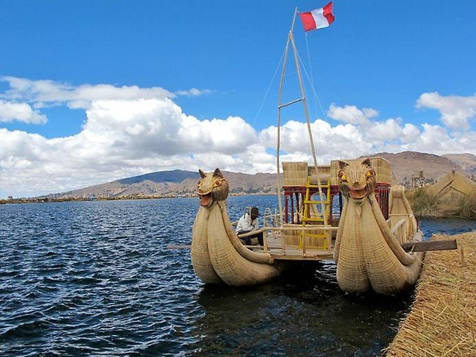 Плаваючі острови озера Тітікака (2)