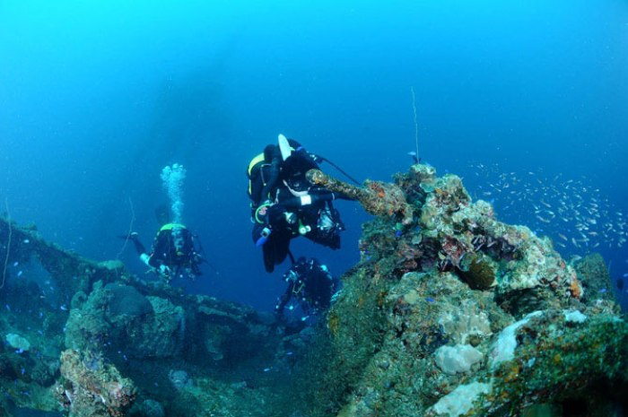 Острови Чуук (Трук) — Лагуна загиблих кораблів (19)