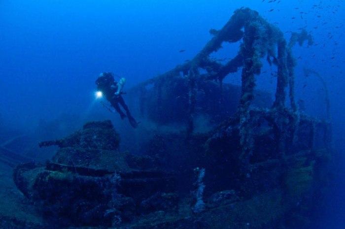 Острови Чуук (Трук) — Лагуна загиблих кораблів (18)