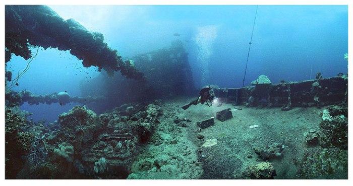 Острови Чуук (Трук) — Лагуна загиблих кораблів (15)