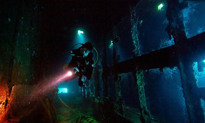 Острови Чуук (Трук) — Лагуна загиблих кораблів (13)