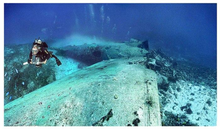 Острови Чуук (Трук) — Лагуна загиблих кораблів (12)