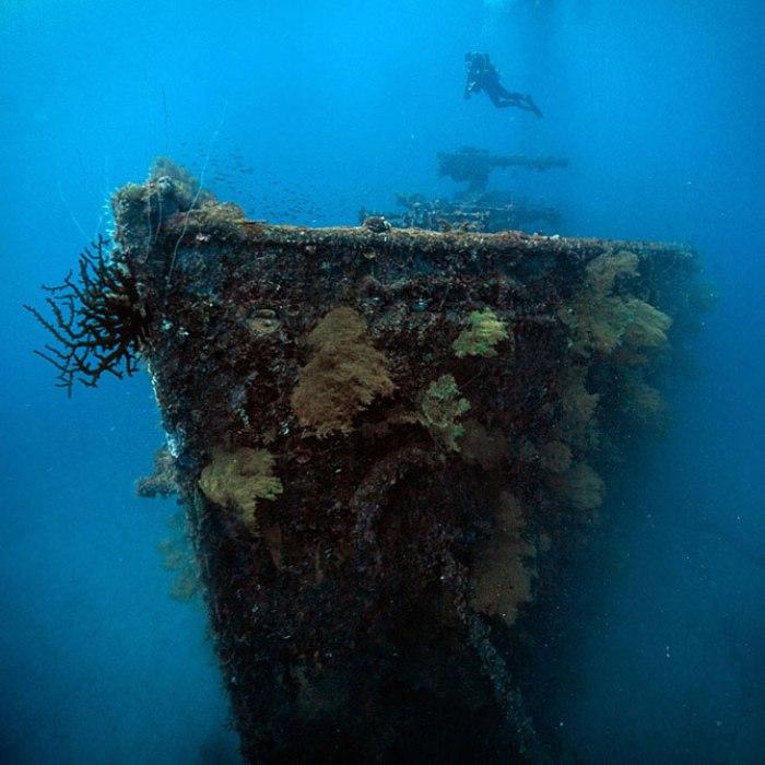 Острови Чуук (Трук) — Лагуна загиблих кораблів (5)