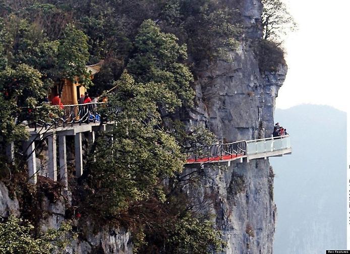 Гора Тяньмень і скляна стежка в небесах (3)