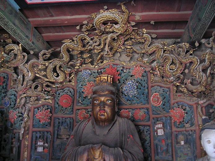 Один з найдивовижніших монастирів в світі — висячий храм гори Хенг (5)