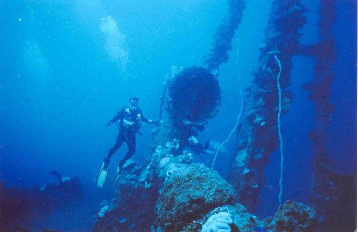 Острови Чуук (Трук) — Лагуна загиблих кораблів (27)