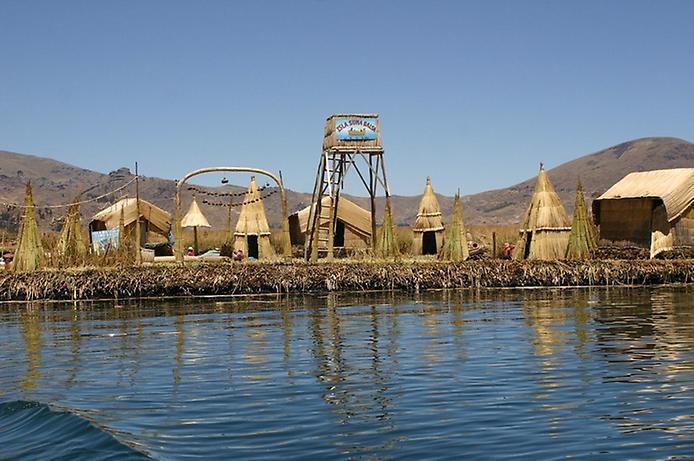 Плаваючі острови озера Тітікака (10)