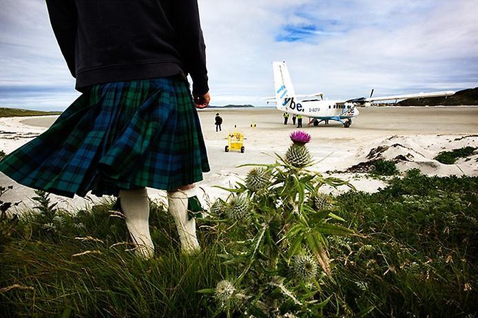 Барра — єдиний в світі аеропорт на пляжі (6)