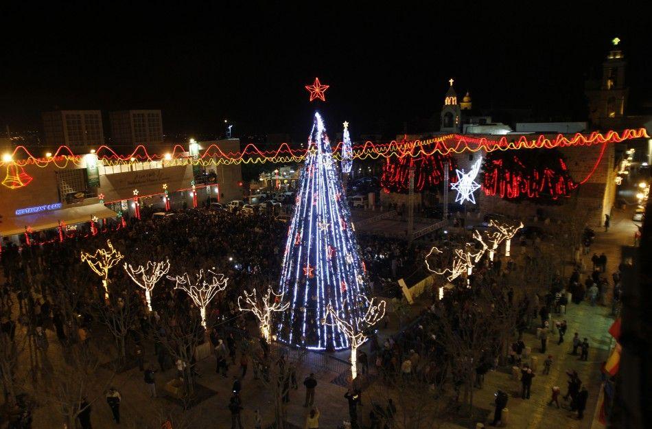 Ще одне місце, що має істотне значення для віруючих - Ясельна площа у Віфлеємі, Палестина.