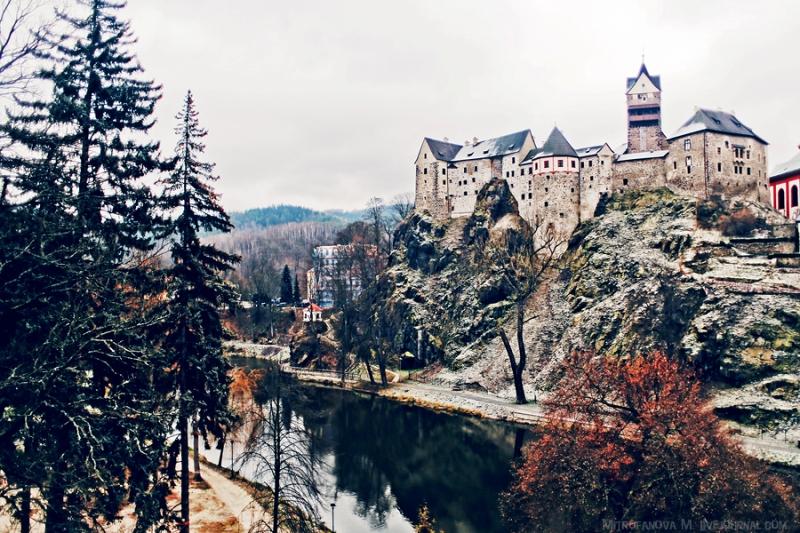 Замок Локет (Hrad Loket) (1)