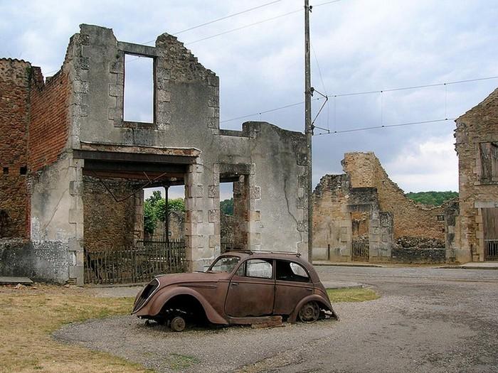 Зруйноване місто Орадур-сюр-Глан: страшний пам'ятник Другої Світової (3)