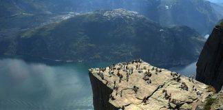 Прекестулен - унікальна природна скеля (1)