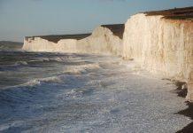 Крейдяні скелі Сім Сестер і Бичі-Хед в графстві Суссекс (1)