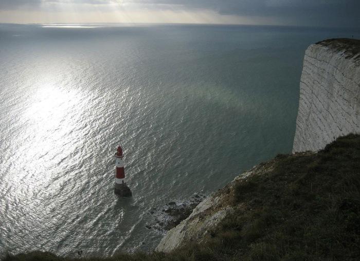 Крейдяні скелі Сім Сестер і Бичі-Хед в графстві Суссекс (2)