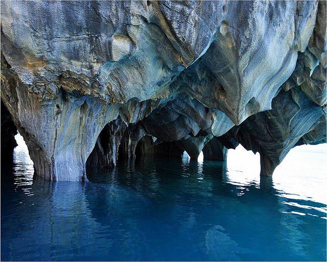 Мармурові печери Las Cavernas de Marmol озера Буенос-Айрес (1)