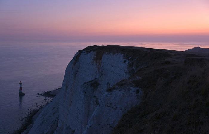 Крейдяні скелі Сім Сестер і Бичі-Хед в графстві Суссекс (8)