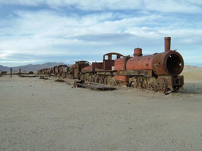 Кладовище поїздів Уюні (6)