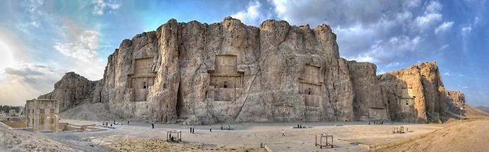 Накш-Рустам. Гробниця перських королів (7)