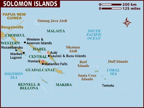Соломонові Острови в Тихому океані (1)