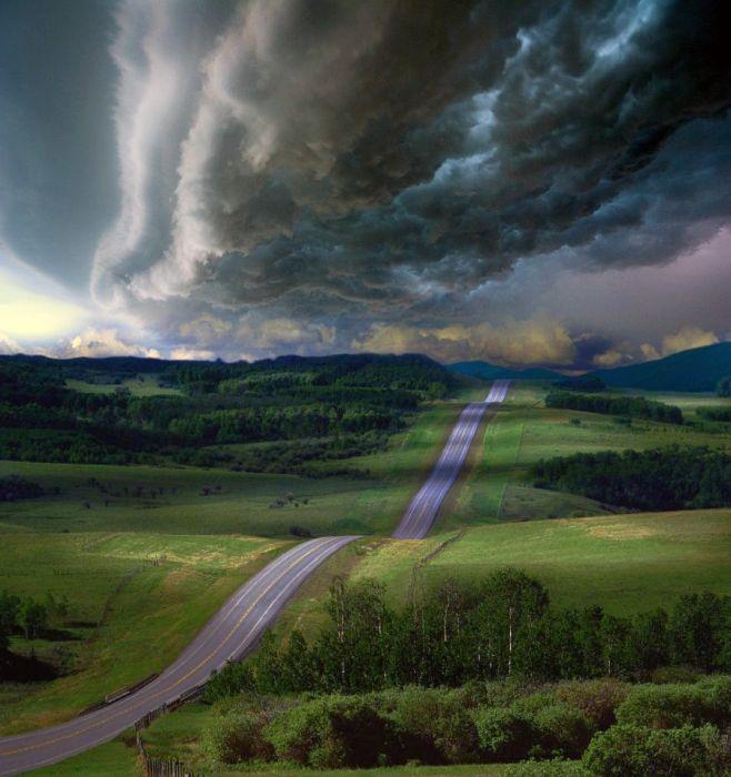 Фотографії найкрасивіших доріг (10)