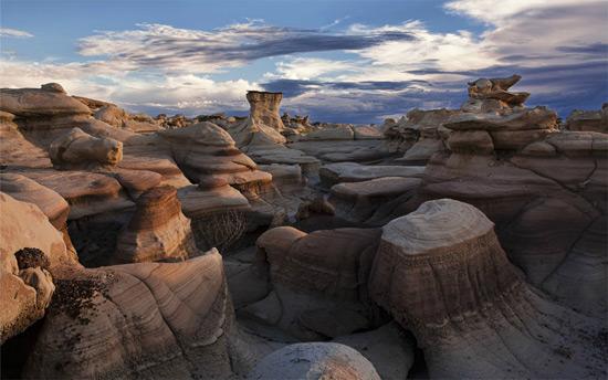 Скали Безплідних земель Бісті, США.