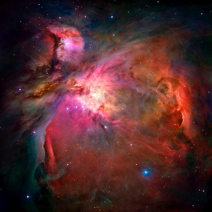 На цьому неймовірному кадрі відображена Туманність Оріона