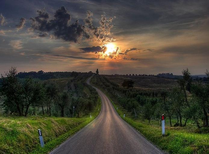 Фотографії найкрасивіших доріг (2)