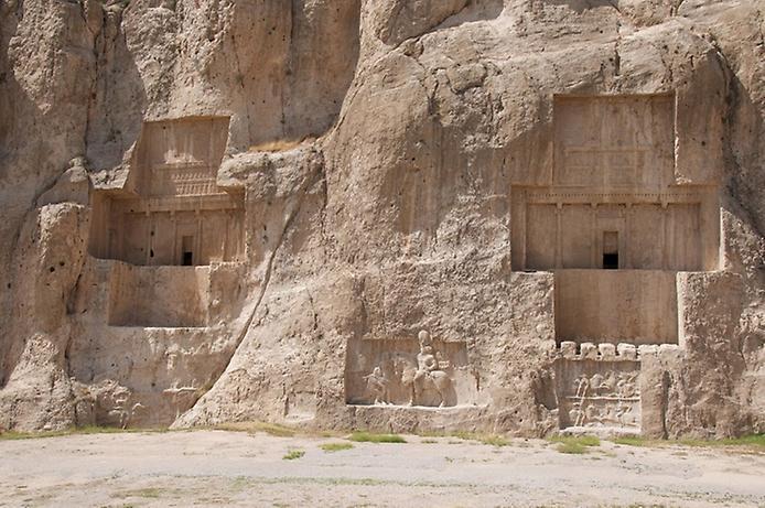 Накш-Рустам. Гробниця перських королів (6)