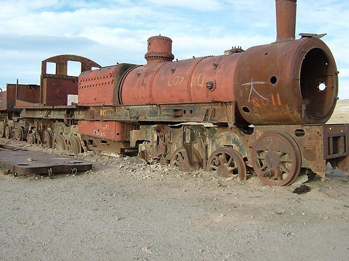 Кладовище поїздів Уюні (5)