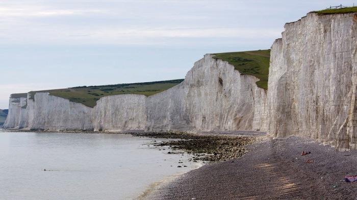 Крейдяні скелі Сім Сестер і Бичі-Хед в графстві Суссекс (17)