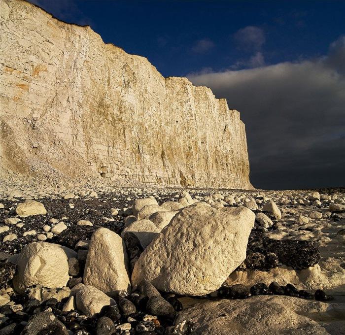 Крейдяні скелі Сім Сестер і Бичі-Хед в графстві Суссекс (19)