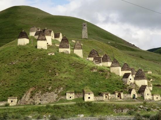 Даргавс - Місто Мертвих: моторошне місто в Північній Осетії (7)