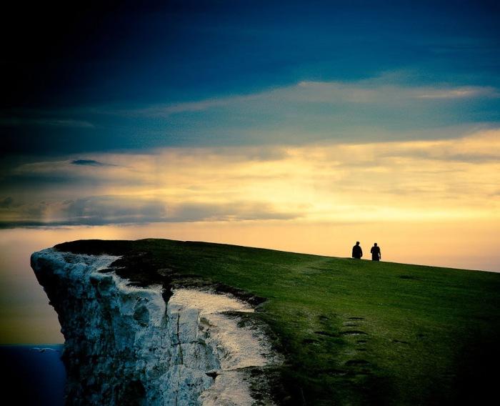 Крейдяні скелі Сім Сестер і Бичі-Хед в графстві Суссекс (20)