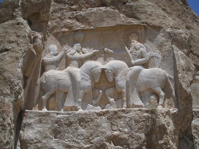 Накш-Рустам. Гробниця перських королів (5)