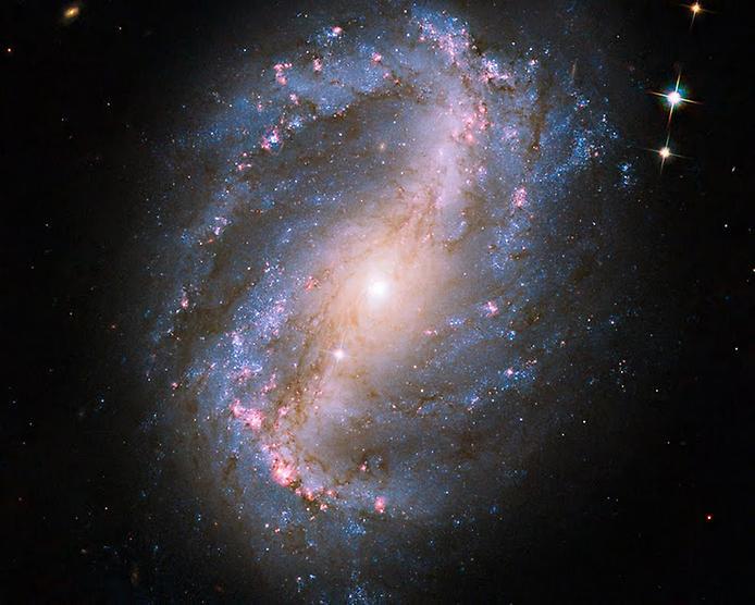 А от класична фотографія спіральної галактики NGC 6217