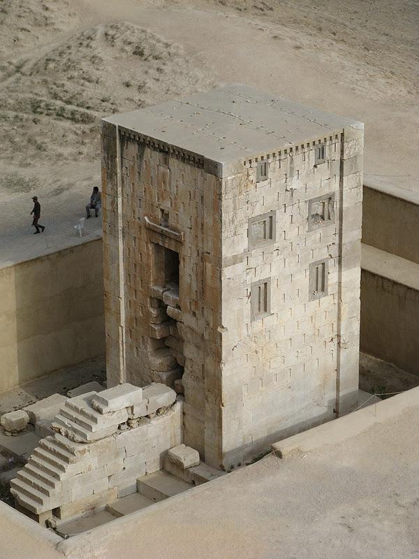 Накш-Рустам. Гробниця перських королів (4)