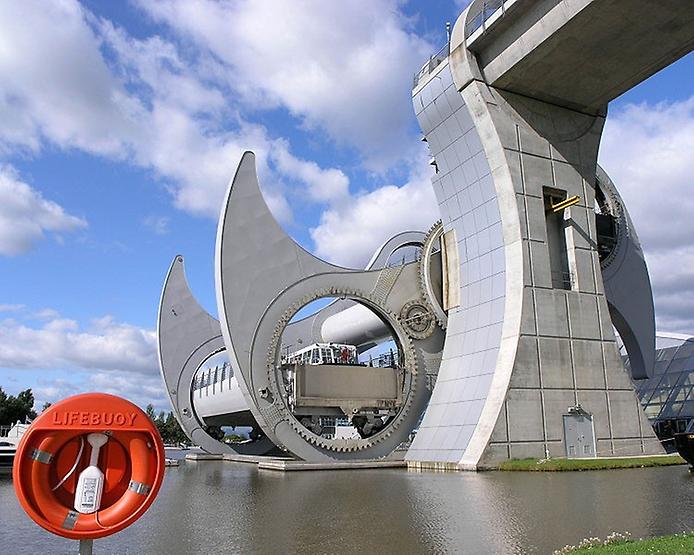 Колесо Фолкерк. Гігантський ліфт для човнів (3)