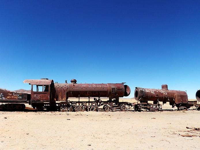 Кладовище поїздів Уюні (2)