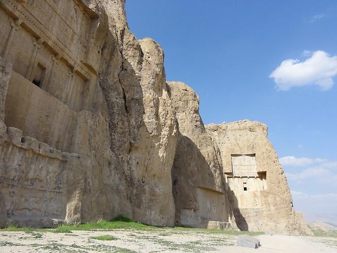 Накш-Рустам. Гробниця перських королів (2)