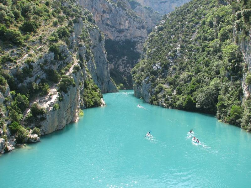 Вердонська Ущелина, або великий каньйон Вердон, вражаюча природна пам'ятка Франції (2)