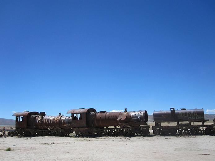 Кладовище поїздів Уюні (1)